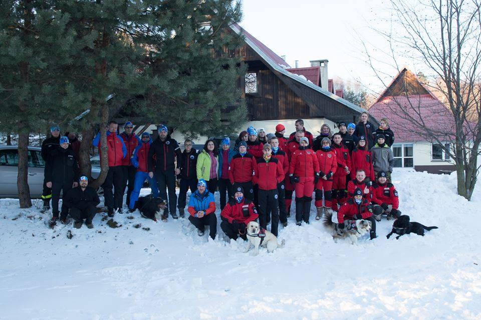 II Zimowe Manewry Grup Poszukiwawczych Jamna