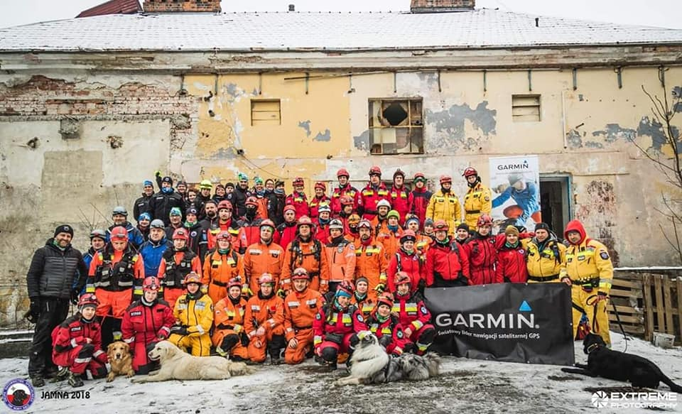 Manewry Grup Poszukiwawczych JAMNA '18